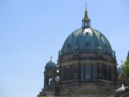 dom: Église Cathédrale Berliner Dom à Berlin, Allemagne.
