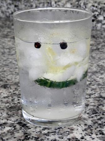 enebro: Gin Tonic con pepino y bayas de enebro