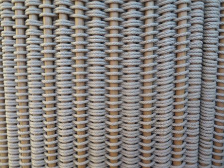 wooden partition: wooden sticks and rope woven room partition