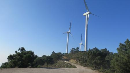 windfarm: Windfarm on Sierra Aguas Mountain near Alora, Andalucia