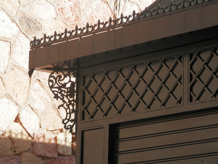 craftsperson: Ornate Ironwork on Kiosk in Antequera, Spain