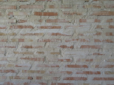 closely: Closely rendered brick wall Stock Photo