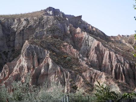 sierra nevada: Wild landscape in Sierra Nevada region of Andalusia, Spain Stock Photo