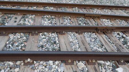Railway tracks near Alora Station, Andalusa Spain