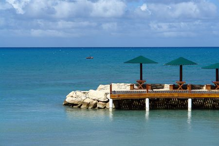 lunch in the caribbean                               photo