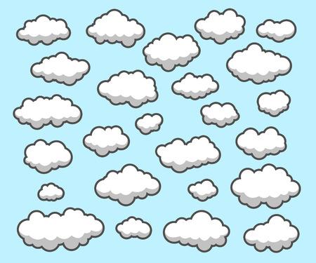 ciel avec nuages: Nuages, ciel
