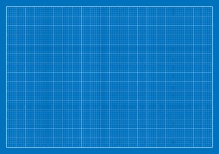 gitter: Blank Blueprint, Gitter, Architektur Illustration