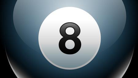 eight ball: Eight Ball, Billiards, Pool Game