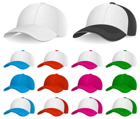hat with visor: Baseball Cap, Clothing and Accessories, Headwear, Sport