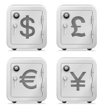 Safe, Currency Symbol, Security, Vault, Money, Banking