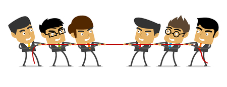 tug war: Tug of War, Business, People, Competition