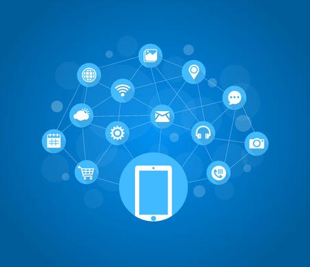 Mobile Icons, Social Media, Mobile Technology, Internet
