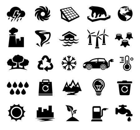 Changement climatique, réchauffement de la planète, l'écologie, l'environnement Banque d'images - 56642317