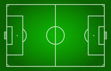 Soccer Field, Soccer, Football, Sport Illustration