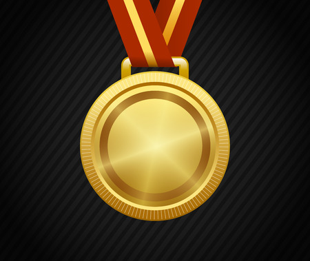 Gold Medal, Winner, Award, Champion