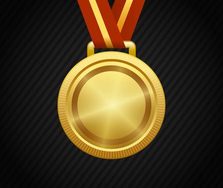 Gold Medal, Winner, Award, Champion