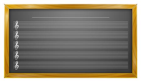 Music, Blackboard, Music Education, Backgrounds