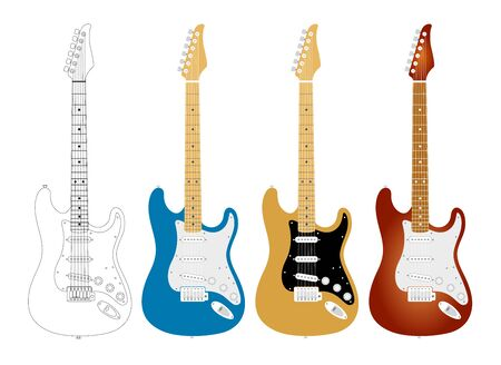 Electric Guitar, Music, Band, Instrument