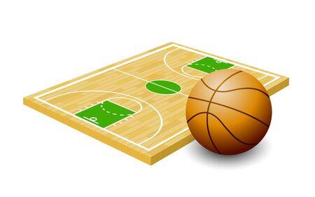 Basketball Isometric, Basketball Court, Play Board, Sport