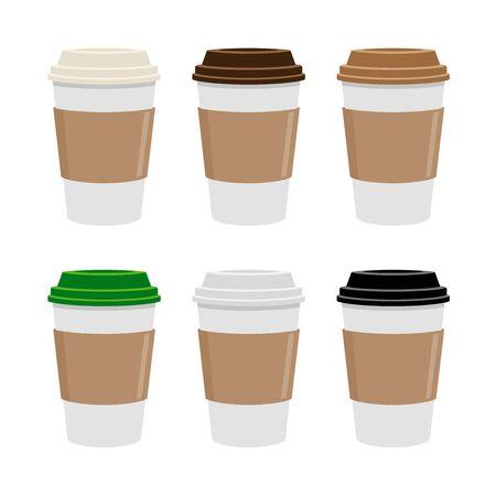 Coffee Cup, Café, Food and Drinks 向量圖像