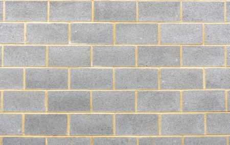 Section of breeze block wall background