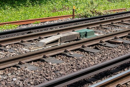 Railway Automatic Warning System warns the train driver of the status of the next signal