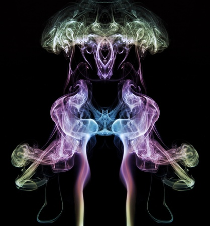 ghostly: Ghostly smoke art