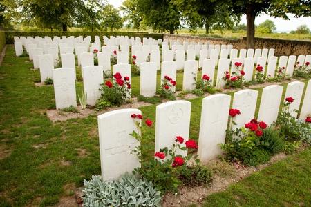 Le cimetière de guerre Banque d'images - 10025221