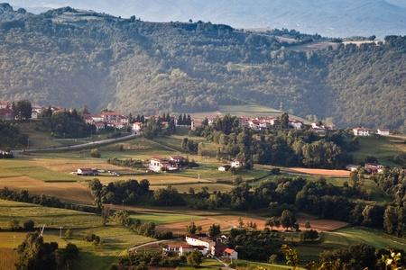 Italian countryside Imagens