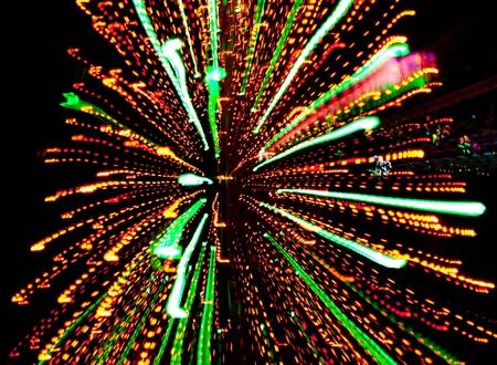 Multicolour light burst Imagens