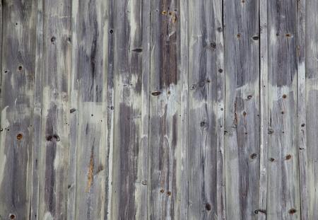 Grey weathered wood fence