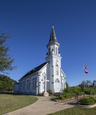 Texas painted church