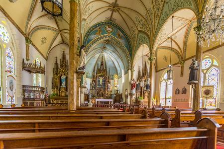 Texas church interior