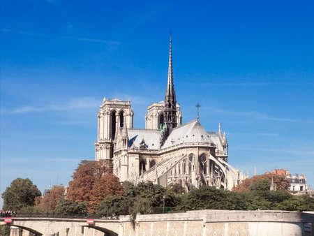 notre: Parisian icon Notre Dame.
