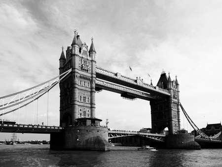 iconic: Iconic landmark tower bridge in London. Stock Photo
