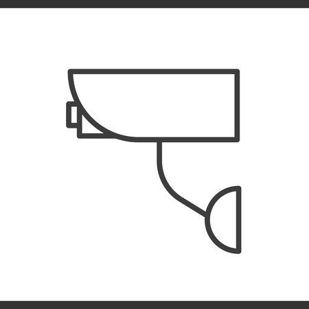 rob: Camera linear icon. Thin line illustration. Vector isolated outline drawing. Illustration