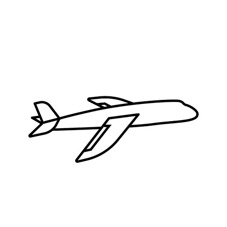 Resultado de imagem para plane icon outline