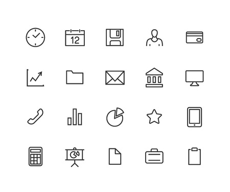 Universal Outline Icons For Web and Mobile. Editable vector stroke. 48x48 Pixel Perfect.