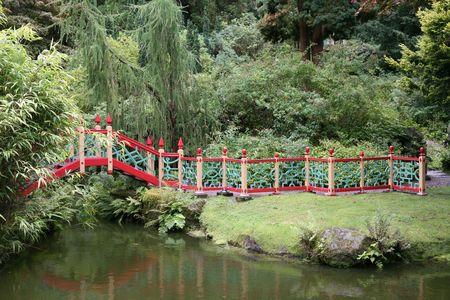 Chinese Garden Walkway Stock Photo - 7998188