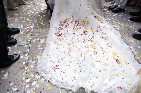 Wedding Train 스톡 콘텐츠