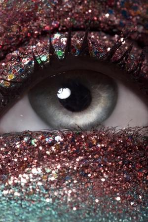 Sparkly Eyeshadow photo