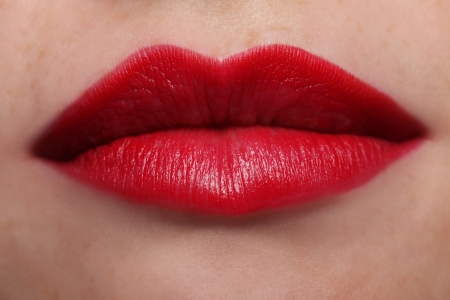 Voluptuous Red Lips