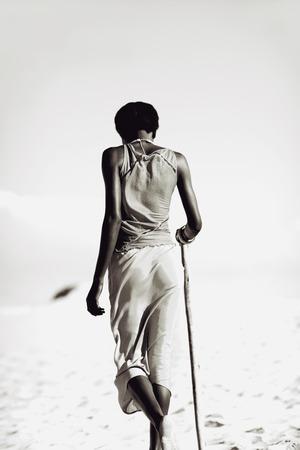 tribal woman: Tribal Woman