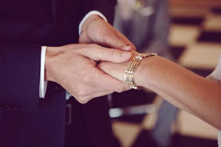 treasured: Couple Holding Hands