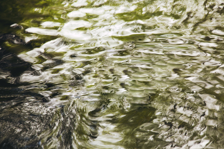 Green Water Background Stock Photo