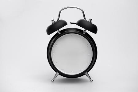 Retro Alarm Clock with No Fingers 스톡 콘텐츠 - 115725430