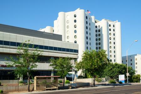 medical center: Phoenix, AZ, USA June 11, 2016: Banner University Medical Center hospital. U of A Banner Phoenix Editorial