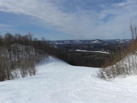 ski slopes: piste da sci Archivio Fotografico