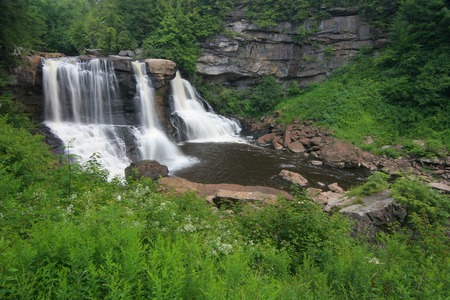blackwater: Blackwater Falls Stock Photo