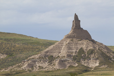 rock formation: Chimney Rock Formation
